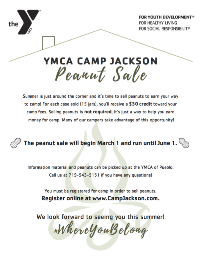 Camp Jackson Peanut Sale