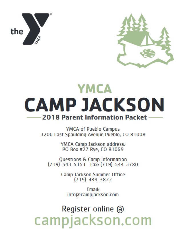 Parent Pack Camp Jackson