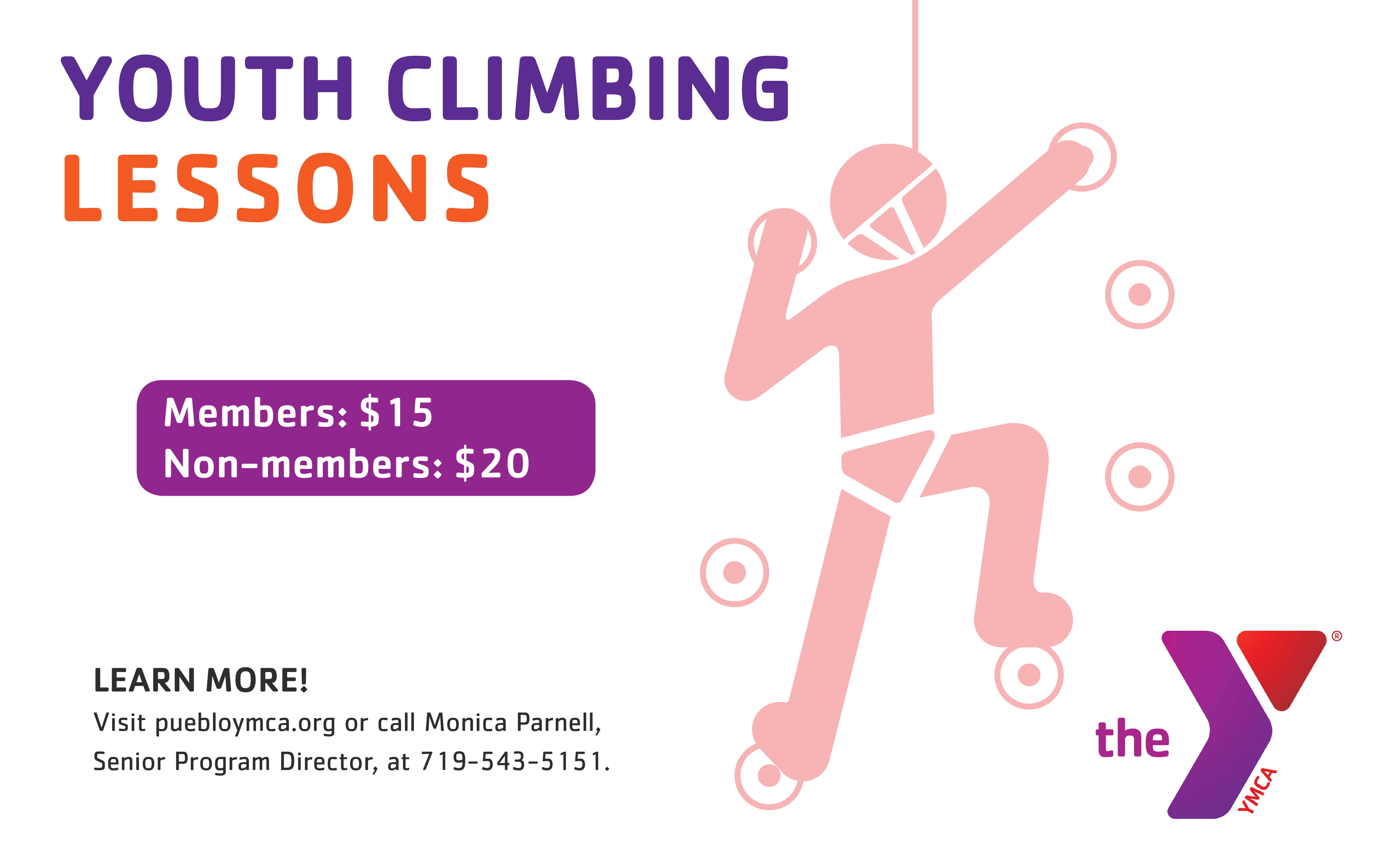 Youth Climbing Lessons